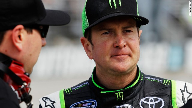 Racer Busch suspended for verbal abuse of reporter