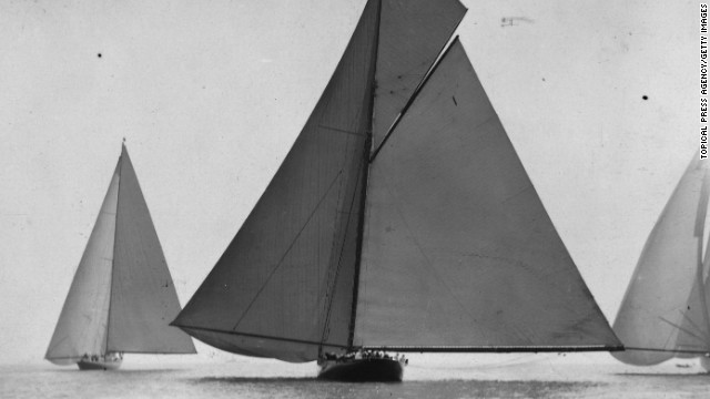 King George V, Elizabeth's grandfather, was himself a keen sailing enthusiast. This awe-inspiring cutter, built in 1893, was used by the king and his family for prestigious sailing events.