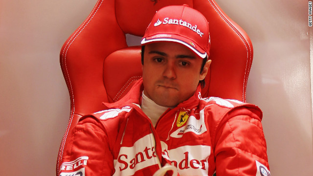 Brazilian Felipe Massa has been driving for Ferrari since 2006, having previously been with Sauber.