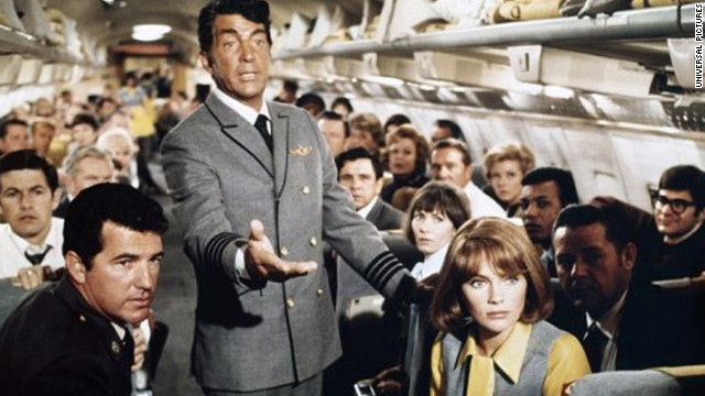 Kicking off the popular disaster genre, 1970's &quot;Airport&quot; stars Burt Lancaster, Dean Martin, Jacqueline Bisset and Helen Hayes. With an estimated budget of $10 million, &quot;Airport&quot; grossed more than $100 million domestically. The film earned Hayes an Oscar for best actress in a supporting role.