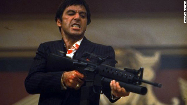 Preceded by the 1932 version, 1983's &quot;Scarface&quot; starring Al Pacino and Michelle Pfeiffer is regarded as a cult classic. Artists like Jay-Z often pay homage to drug lord Tony Montana through music. &quot;(Rappers) really get it, and they understand it, and that's a great thing,&quot; Pacino told MTV in 2011.