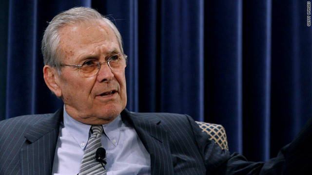 Rumsfeld, architect of Iraq war, says Obama hasn't yet justified Syria attack