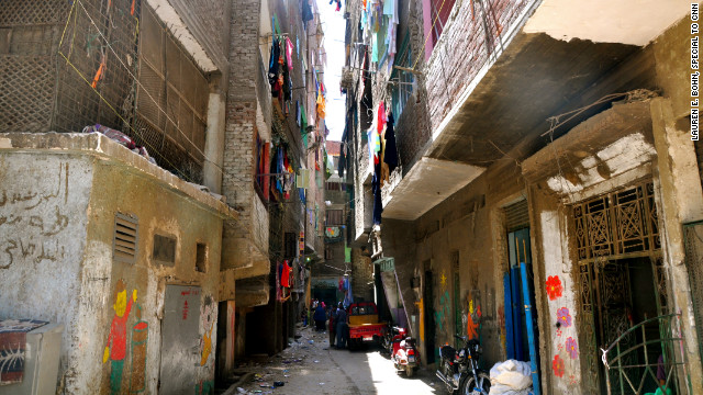 Two-thirds of the Cairo population live in informal shanty-towns called Ashwiyats (literally meaning &quot;random&quot; in Arabic). The unplanned settlements have proliferated across the city over the past three decades.