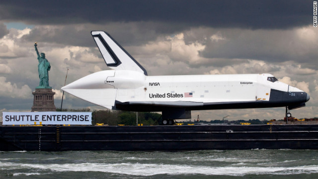 Photos: Enterprise in the Big Apple