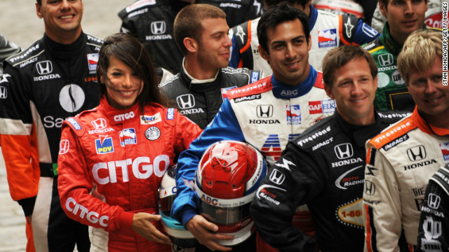 In 2007, Duno made the transition to Indycar racing -- the premier league of U.S. American open wheel racing. &quot;Whether you are a race car driver or working as an engineer or in an office, you have to see what you want, and believe that you can do it,&quot; she says. 