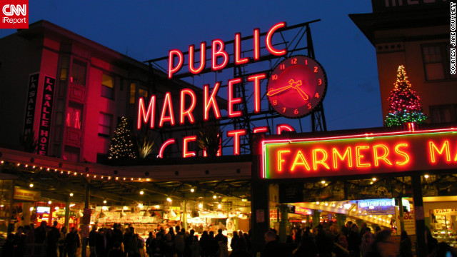 Pike Place Market, Seattle's historic produce and seafood market, is a critical stop for both tourists and residents.