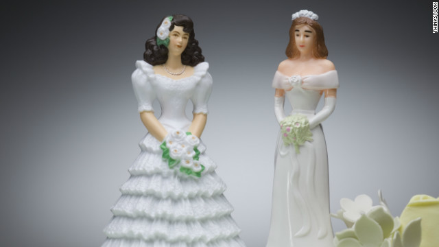 ... is going through a divorce from her same-sex partner. STORY HIGHLIGHTS