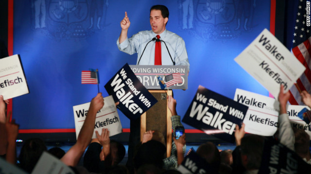 Wisconsin recall campaign winds up - CNN.