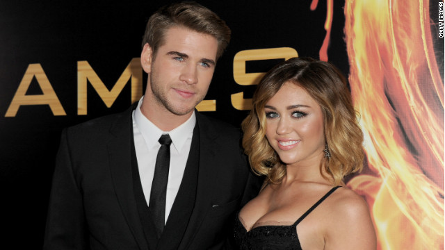 Report: Miley Cyrus engaged to &#039;Hunger Games&#039; star