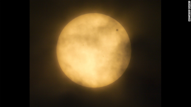 Photograph of the Transit of Venus
