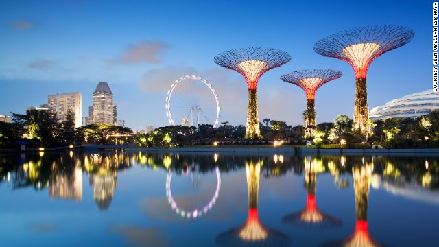 Singapore will celebrate its 50th anniversary of independence in 2015. Attractions like the Gardens by the Bay will be a big draw for visitors.