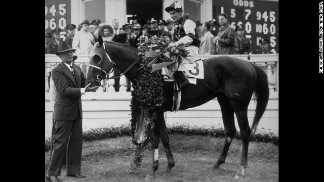 Assault won the Triple Crown in 1946.