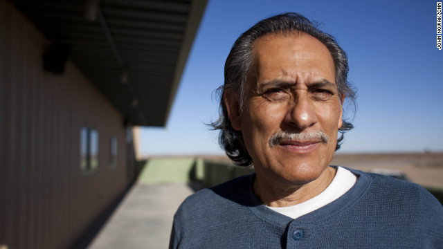 Roberto Gutierrez is pictured outside his grocery store. A former village board member and former mayor pro-tem, Gutierrez nominated Nicole Lawson to become the new mayor of Columbus. Several of Gutierrez's family members, including his son, Blas, were arrested by federal authorities in March 2011 on charges of gun trafficking.