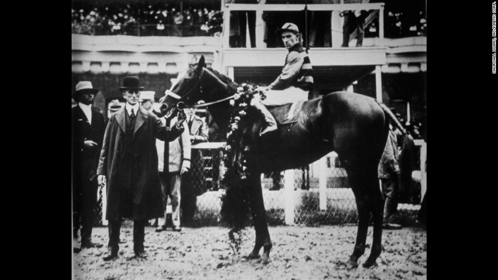 Here's a look back at the 11 horses who've managed the feat. Sir Barton was the first horse to earn the Triple Crown of Thoroughbred Racing, as it would come to be known, by winning the Kentucky Derby, Preakness Stakes and Belmont Stakes in 1919.
