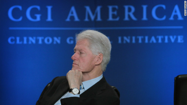 Ex-President Bill Clinton, at the Clinton Global Initiative meeting, stirred waves this week with his remarks on the 2012 campaign.