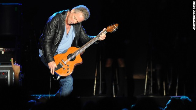 Lindsey Buckingham plays on the 2009 &quot;Unleashed&quot; Fleetwood Mac tour. Buckingham was the lead singer from 1975-1987 and 1997 to present day.