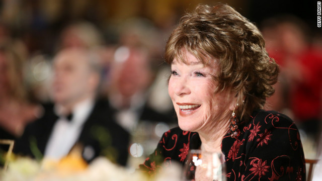 American Film Institute honors Shirley MacLaine