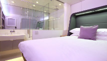 A Yotel premium cabin.