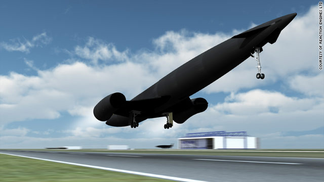 Unlike NASA's space shuttle, Skylon can both take off and land much like conventional aircraft.
