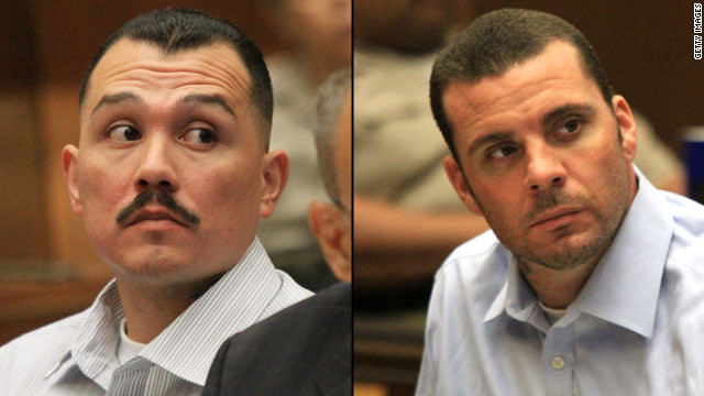 Louie Sanchez and Marvin Norwood face felony counts of mayhem, assault and battery.