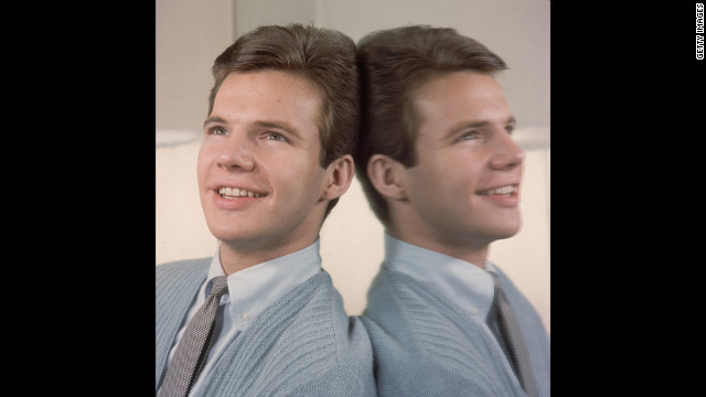 American pop singer and teen idol Bobby Vee in a fresh-faced 1960 publicity still. The North Dakota native had been signed to a record label the year before at 16.