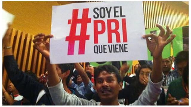 #SoyelPRIqueViene, el movimiento de cibernautas a favor de Peña Nieto