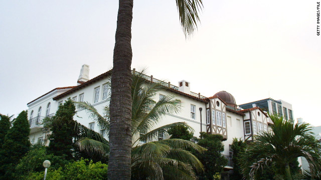The Miami Beach residence once owned by slain fashion designer Gianni Versace is up for sale.