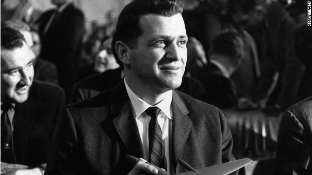 Francis Gary Powers was the pilot of a U-2 spy plane that crashed in Russia in 1960.