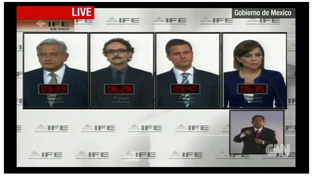 Ni propuestas ni nocauts en el segundo debate presidencial en México
