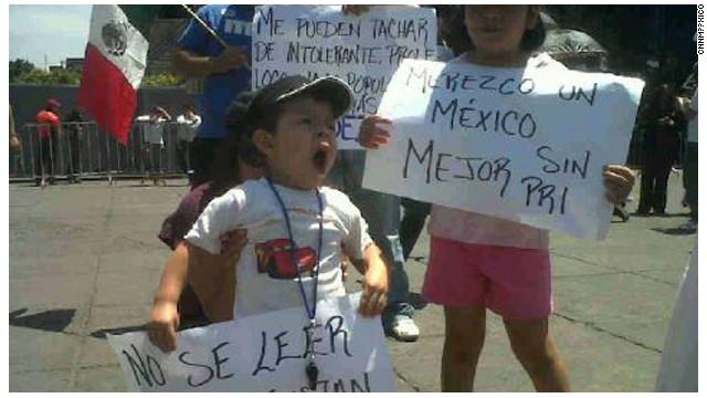 Adolescentes crean el movimiento #YoSoy133 por el proceso electoral mexicano