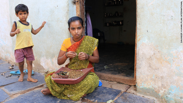 Child workers in India's beedi industry