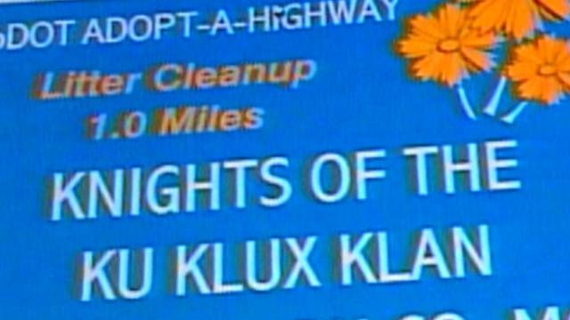 """El Ku Klux Klan quiere """"adoptar"""" un tramo carretero en Georgia"""