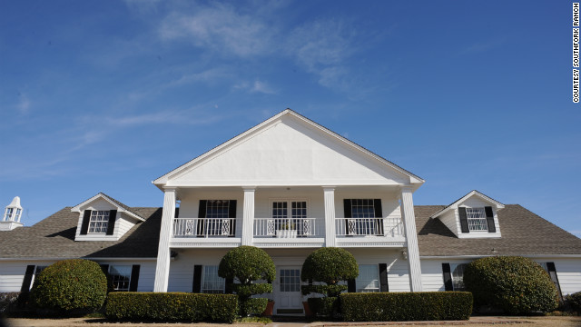 The home base of Dallas' most famous TV dynasty actually sits just outside of the city, in Parker, Texas. The house has served as a conference center and event site since the 1980s.