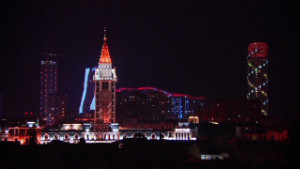 City aims to be 'Las Vegas of the Caucasus'