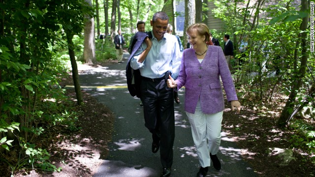 Thomas Kleine-Brockhoff: Germany's Angela Merkel can't singlehandedly save the euro and Barack Obama's presidency.