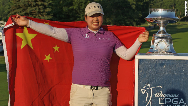 China's Shanshan Feng turned pro in 2007 and formerly played on the LPGA of Japan Tour.