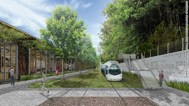...but with the help of public funds, developers of the BeltLine hope to create a transit system for residents fit for the 21st century.