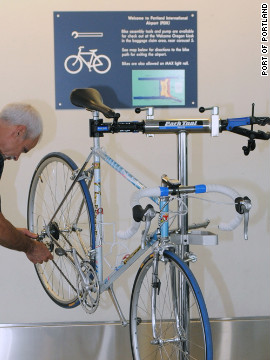 Portland, Oregon, is widely regarded as one of the nation¹s most bikeable cities, so it's only logical its airport would want to install a bike assembly station.<br/><br/>