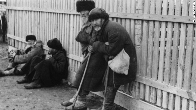 During Soviet rule a famine hit Ukraine that killed up to 7 million people between 1932 and 1933, according to the CIA World Factbook. Known as 'Holodomor', meaning 'death by hunger', it is widely held that the famine was a direct consequence of the Soviet policy of forced collectivization of farms.