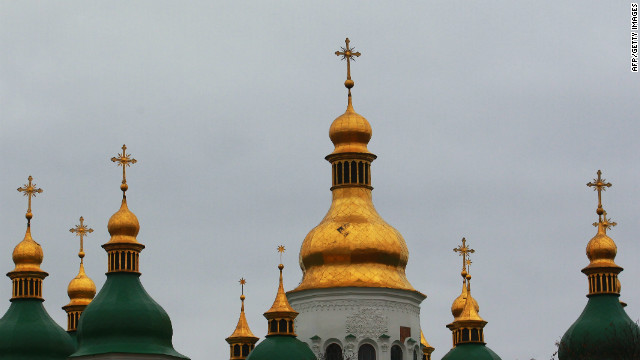 Translated 'Ukraine' means 'the land'. It has four UNESCO World Heritage sites, including Saint Sophia Cathedral in Kiev, built in the 11th century to symbolize the 'new Constantinople'.