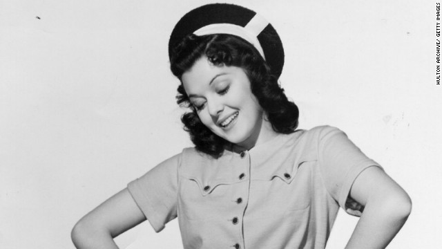 Ann Rutherford is shown here in a still from