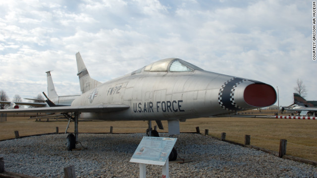 "<a href='http://www.grissomairmuseum.com/' target='_blank'>Grissom Air Museum</a> in Peru, Indiana, is an ""off-the-beaten-path gem,"" wrote CNN commenter lastdomino. ""If you're ever close ... [it's] definitely worth the trip."" A crown jewel at Grissom is this F-100C Super Sabre, formerly flown by Apollo 11 moonwalker Neil Armstrong."