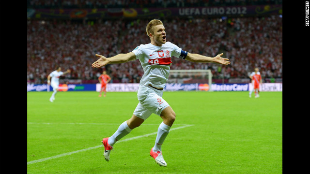 Poland captain Blaszczykowski scored in the 57th minute as the co-hosts denied Russia the satisfaction of becoming the first team to qualify for the quarterfinals, Tueday.