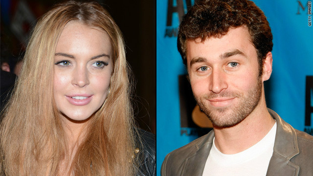 James Deen swears he's not sleeping with LiLo