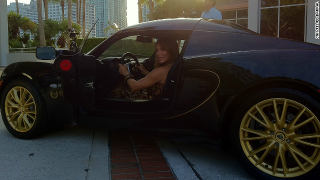 When at home in Miami, Duno drives a black Lotus, a perk of her success. &quot;It doesn't matter if you are a woman or a man. The important thing is your ability, your intelligence and your determination -- how strong you are,&quot; she says. 