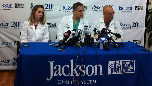 La víctima de canibalismo en Miami se encuentra estable