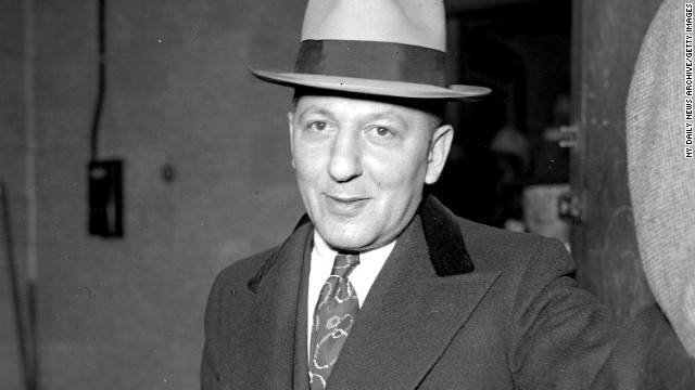 Mobster Louis Lepke Buchalter was one of a army behind a strike patrol famous as Murder Inc. He died in a electric chair during New York's Sing Sing jail in 1944.
