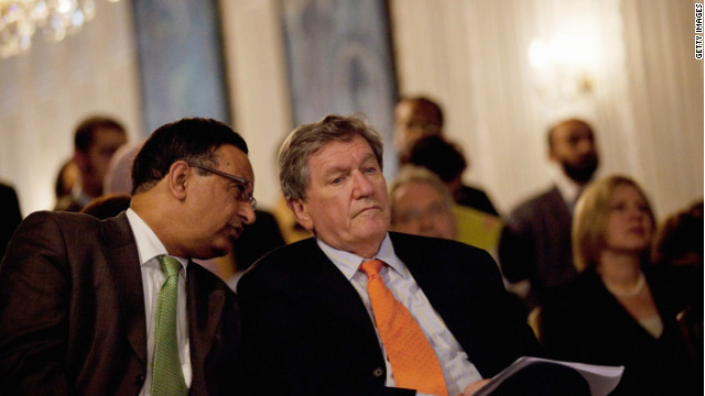 Pakistan's former ambassador to the U.S., Hussain Haqqani (left) is believed to have asked for Washington's help in secret letter.