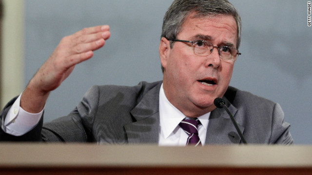 Former Florida Gov. Jeb Bush testifies this month before the House Budget Committee. 