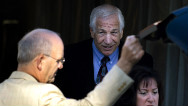 Sandusky gave accuser odd stare in court
